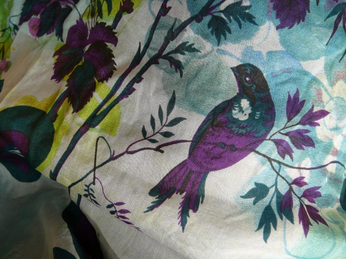 03-15-2012 - Spring silk - Skirt fabric with print